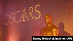 На церемонии вручения кинопремии американской киноакадемии в 2017 году.