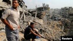 غزه پس از نبردهای یک ماهه