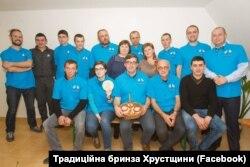 Асоціація вівчарів Хустщини, в центрі – Орест Дель Соль