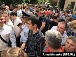"""Участники акции """"Он нам не царь"""" в Краснодаре"""