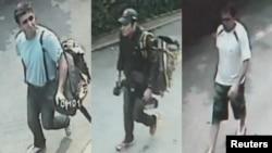 تصاویری که پلیس تایلند از سه متهم ایرانی انفجارها در این کشور منتشر کرده است.