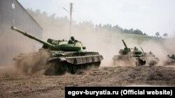 Ці танки планували утилізувати ще 2013 року, проте вони досі на ходу. Фото офіційного порталу Республіки Бурятія