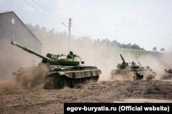 Ці танки планували утилізувати ще 2013 року, проте вони досі на ходу. Фото – офіційний портал Республіки Бурятія