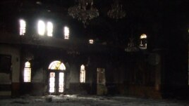 Syria -- Armenian church St. Gevorg reportedly burned down in Aleppo, 29Oct2012