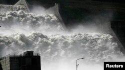 Оьрсийчоь --Саяно-Шушенскерчу гидростанцино хи дIахоьцуш , 22Мар2013