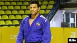 Iranian judo champion Saeid Mollaei said he was afraid to return home after disobeying an official's demand that he not win some of his bouts at the judo world championships. (file photo)