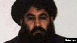 Mullah Akhtar Mansur, the Taliban's new leader, is seen in this undated handout photograph by the Taliban.