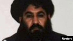 Mullah Akhtar Mohammad Mansur in an undated handout photograph by the Taliban.