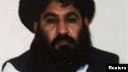 Лидер талибов мулла Мансур.