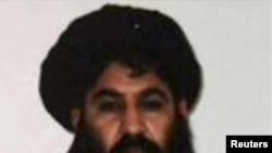 Талибанскиот лидер, Мула Мохамед Омар.