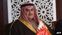 خالد بن احمد آل خلیفه - وزیر خارجه بحرین