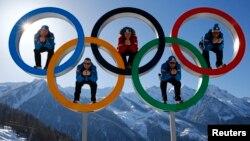Оьрсийчоь -- Соче а кхаьчна, олимпиада йолаяларе сатуьйсуш бу Австрера спортхой, Сочина гергахь, 4Чил2014