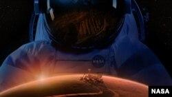 Ilustrim i eksplorimeve në Mars
