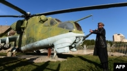 Afghanistan's military has been using Russian-made helicopters for decades.