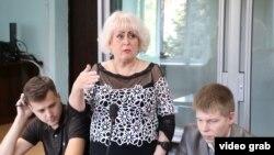 Екс-мер Слов'янська та кандидат у мери міста Неля Штепа у суді