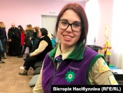 Станична «Пласту» Вікторія Шуміловська