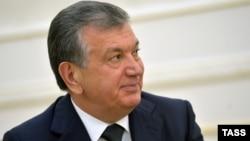 Премьер-министр Узбекистана Шавкат Мирзияев. Самарканд, 6 сентября 2016 года.