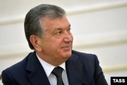 Interim Uzbek leader Shavkat Mirziyaev (file photo)