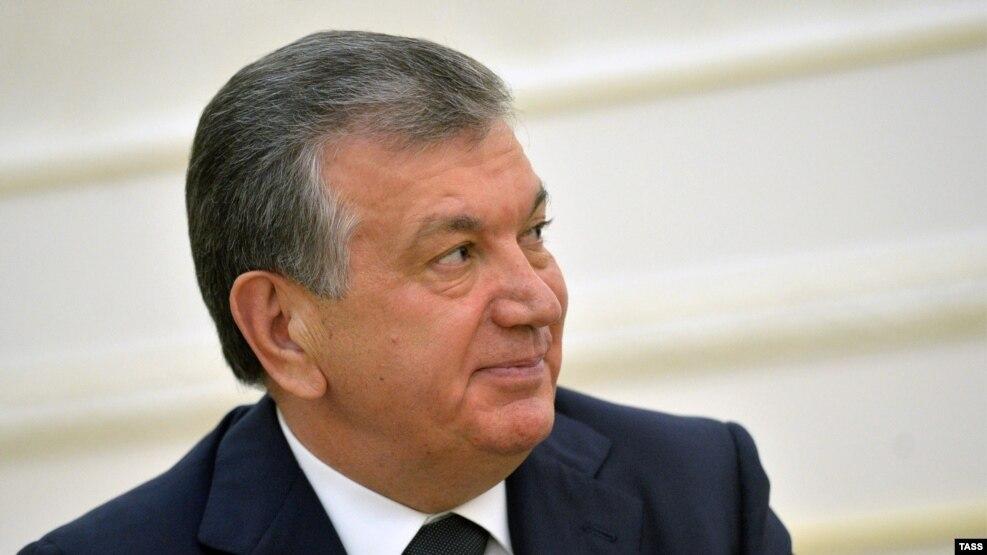 Acting Uzbek President Shavkat Mirziyaev (file photo)