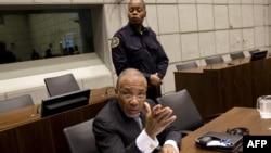Чарльз Тейлор в суде