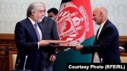 توافق سیاسی میان آقایان غنی و عبدالله