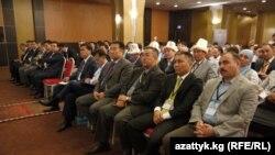 Кыргызстандык ишкерлердин дүйнөлүк 2-форумунда. 30-август, 2013-жыл. Стамбул, Түркия
