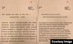 Письмо Маннергейма, A CICR B G 017 05 093