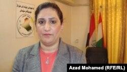 اشواق الجاف نائبة عن التحالف الكردستاني