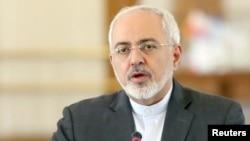 Мохаммад Джавад Зариф, министр иностранных дел Ирана.