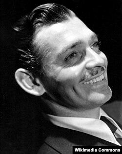 Clark Gable erkən dövrlərində, 1938-ci il.