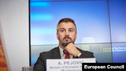 Aleksandar Pejović, glavni pregovarač Crne Gore s EU