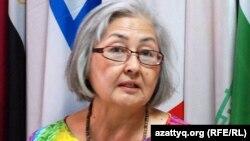 Журналист Бақытжан Жұмалиева. Алматы, 23 тамыз 2012 жыл.