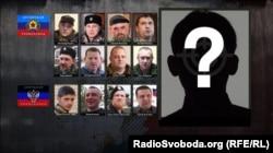 Інфографіка: бойовики угруповань «ЛНР» та «ДНР», які загинули в 2016-17 роках