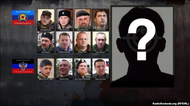 Представители группировок «Л/ДНР», которых убили в 2016-2017 годах