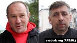 Аляксандар Кабанаў і Сяргей Пятрухін