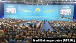 Заседание партии «Нур Отан». Иллюстративное фото.