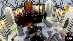 Похороны Ниязова в родовом селении Кипчак