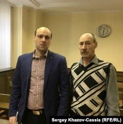 Сергей (слева) и Александр Сенины в Верховном суде
