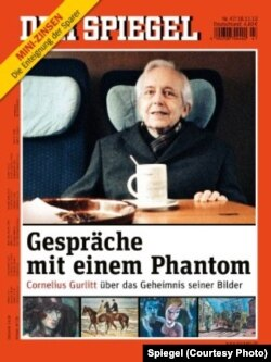 Cornelius Gurlitt pe coperta revistei Der Spiegel