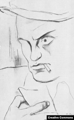 Портрет Маяковского