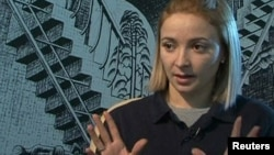 Former Costa Concordia crew member Domnica Cemortan (file photo)