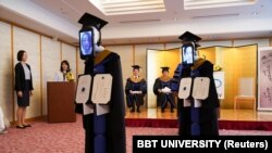 'New me' roboti koji zamjenjuju diplomiranog studenta u Japanu,april 2020.