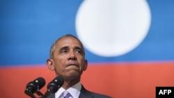 Barak Obama tokom posete Laosu
