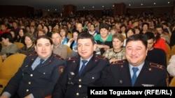Участники встречи с акимом города Алматы. Алматы, 19 февраля 2015 года.
