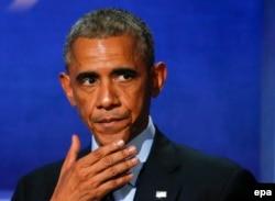رئیسجمهوری آمریکا به فرماندهان ارشد نظامی کشورهای ائتلاف گفته است «راهی فوری برای درست کردن اوضاع وجود ندارد. ما هنوز در مراحل اولیه هستیم.»