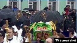 Патриарх упокоился в своем любимом Елохове