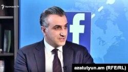 Министр сельского хозяйства Армении Игнатий Аракелян, Ереван, 8 августа 2017 г.