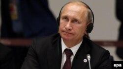 Владимир Путин на заключительной пресс-конференции саммита