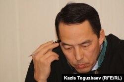Галым Келдыбаев, судья специализированного межрайонного административного суда города Алматы. Алматы, 7 февраля 2013 года.