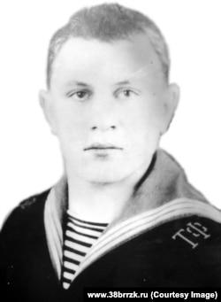 Матрос ГС-34 (УНГО) Александр Кажаев